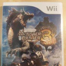 Videojuegos y Consolas: MONSTER HUNTER 3 TRI WII PRECINTADO. Lote 254320350