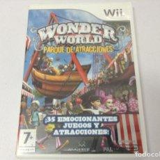 Videojuegos y Consolas: WONDER WORLD PARQUE DE ATRACCIONES. Lote 254746075
