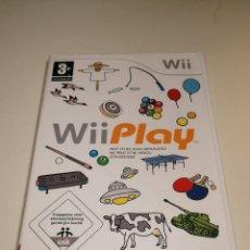Videojuegos y Consolas: JUEGO WII PLAY. Lote 254750765