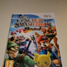 Videojuegos y Consolas: JUEGO NINTENDO WII SUPER SMASH BROS. Lote 254751915