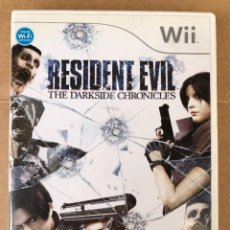 Videojuegos y Consolas: WII RESIDENT EVIL. THE DARKSIDE CHRONICLES. Lote 254762635