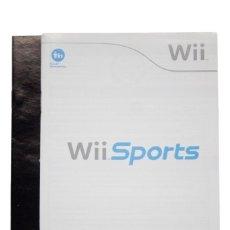 Videojuegos y Consolas: MANUAL WII SPORTS FR DE ND EN. Lote 255575315