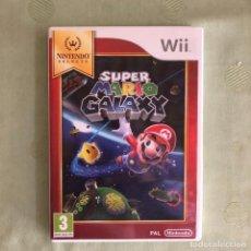 Videojuegos y Consolas: NINTENDO WII SUPER MARIO GALAXY SELECTS. Lote 255618295