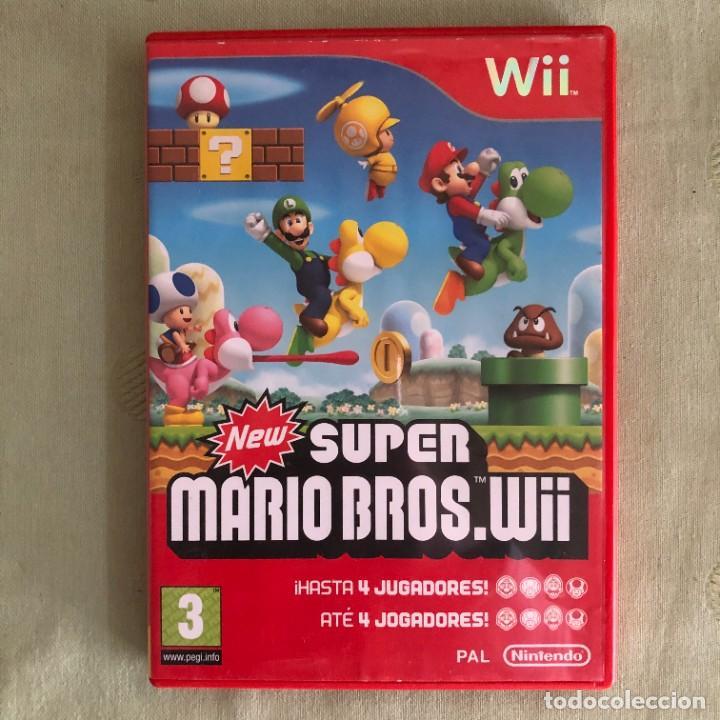 NINTENDO WII SUPER MARIO BROS (Juguetes - Videojuegos y Consolas - Nintendo - Wii)