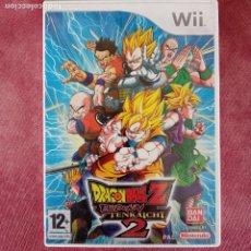 Videojuegos y Consolas: DRAGONBALL Z BUDOKAI TENKAICHI 2 WII. Lote 255624955