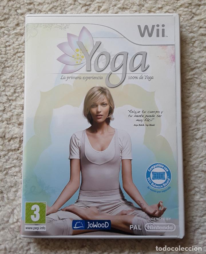 WII YOGA (Juguetes - Videojuegos y Consolas - Nintendo - Wii)
