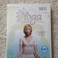 Videojuegos y Consolas: WII YOGA. Lote 255674305
