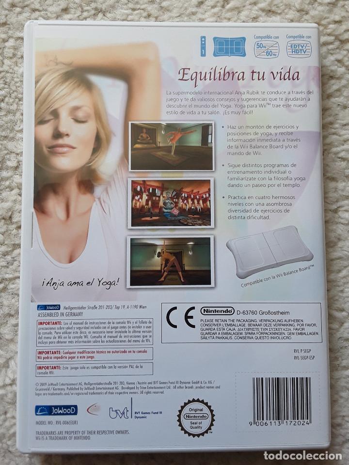 Videojuegos y Consolas: Wii Yoga - Foto 2 - 255674305