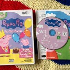 Videojuegos y Consolas: PEPPA PIG FUN AND GAMES NINTENDO WII KREATEN. Lote 255998595