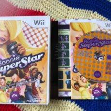 Videojuegos y Consolas: BOOGIE SUPER STAR SING AND DANCE NINTENDO WII KREATEN. Lote 255999035