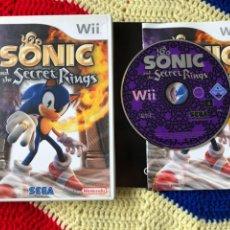 Videojuegos y Consolas: SONIC AND THE SECRET RINGS SEGA NINTENDO WII KREATEN. Lote 255999695