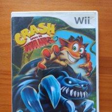 Videojuegos y Consolas: WII CRASH LUCHA DE TITANES - CAJA VACIA, SOLO CAJA Y CARATULA (T3). Lote 256011965