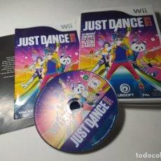 Videojuegos y Consolas: JUST DANCE 2018 ( NINTENDO WII - WII U - PAL - ESP). Lote 256065180
