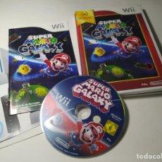 Videojuegos y Consolas: SUPER MARIO GALAXY ( SELECT) ( NINTENDO WII - WII U - PAL - ESP). Lote 256065465