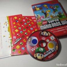 Videojuegos y Consolas: NEW SUPER MARIO BROS ( NINTENDO WII - WII U - PAL - ESP) - IMPECABLE!. Lote 256065855