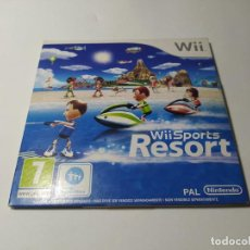 Videojuegos y Consolas: WII SPORTS RESORT ( CARTON ) ( NINTENDO WII - WII U - PAL - ESP). Lote 256066055