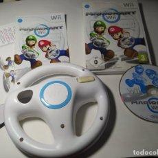 Videojuegos y Consolas: MARIO KART WII + VOLANTE ( NINTENDO WII - WII U - PAL - ESP). Lote 256066365