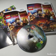Videojuegos y Consolas: LEGO - EL SEÑOR DE LOS ANILLOS ( NINTENDO WII - WII U - PAL - ESPAÑA). Lote 258781705