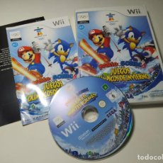Videogiochi e Consoli: MARIO & SONIC JJOO DE INVIERNO ( NINTENDO WII - WII U - PAL - ESPAÑA). Lote 259302105