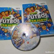 Videogiochi e Consoli: FANTASTIC FUTBOL FAN PARTY ( NINTENDO WII - WII U - PAL - ESPAÑA). Lote 259323785