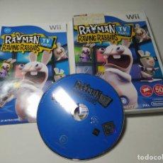 Videogiochi e Consoli: RAYMAN RAVING RABBIDS TV PARTY ( NINTENDO WII - WII U - PAL - ESPAÑA). Lote 259324040
