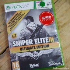 Videojuegos y Consolas: SNIPER ELITE III. ULTIMATE EDITION - XBOX 360 - VIDEOJUEGO SEGUNDA MANO. Lote 261577380