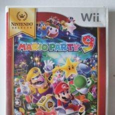 Videojuegos y Consolas: JUEGO MARIO PARTY 9. NINTENDO WII. Lote 262006410