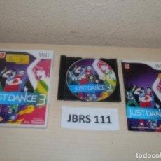 Videojuegos y Consolas: WII - JUST DANCE 3 , PAL ESPAÑOL , COMPLETO. Lote 262443955