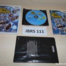 Videojuegos y Consolas: WII - RAVING RABBIDS - REGRESO AL FUTURO , PAL ESPAÑOL , COMPLETO. Lote 262446110