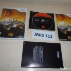 Videojuegos y Consolas: WII - NEED FOR SPEED UNDERCOVER , PAL ESPAÑOL , COMPLETO. Lote 262452170