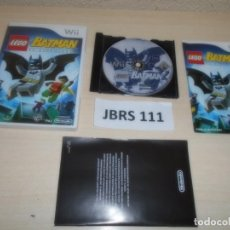 Videojuegos y Consolas: WII - LEGO BATMAN , PAL ESPAÑOL , COMPLETO. Lote 262452490