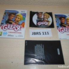 Videojuegos y Consolas: WII - GREASE , PAL ESPAÑOL , COMPLETO. Lote 262452600