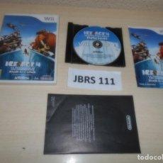 Videojuegos y Consolas: WII - ICE AGE 4 , PAL ESPAÑOL , COMPLETO. Lote 262453310