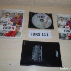 Videojuegos y Consolas: WII - FIFA 11 , PAL ESPAÑOL , COMPLETO. Lote 262453550