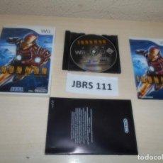 Videojuegos y Consolas: WII - IRONMAN , PAL UK , COMPLETO. Lote 262454600