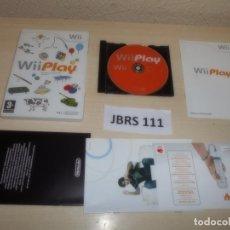 Videojuegos y Consolas: WII - WII PLAY , PAL ESPAÑOL , COMPLETO. Lote 262455145
