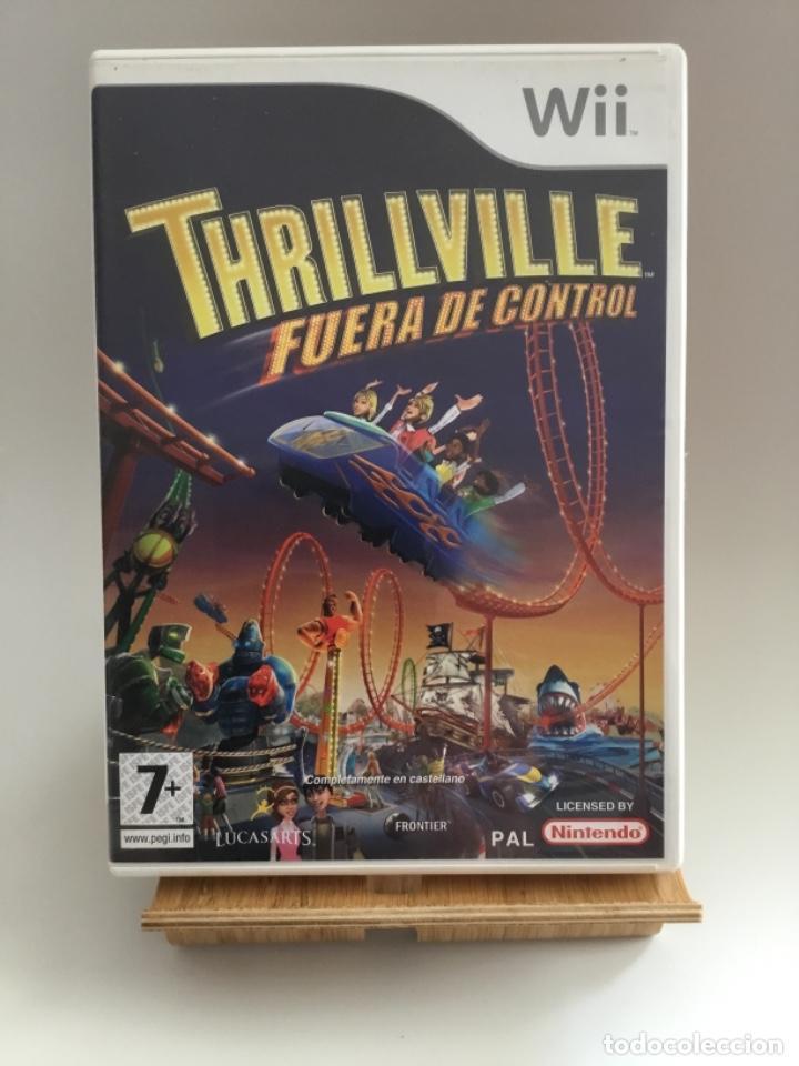 THRILLVILLE FUERA DE CONTROL , JUEGO NINTENDO WII, PAL ESPAÑOL, COMPLETO (Juguetes - Videojuegos y Consolas - Nintendo - Wii)