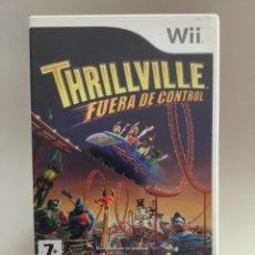 Videojuegos y Consolas: THRILLVILLE FUERA DE CONTROL , JUEGO NINTENDO WII, PAL ESPAÑOL, COMPLETO. Lote 265844939