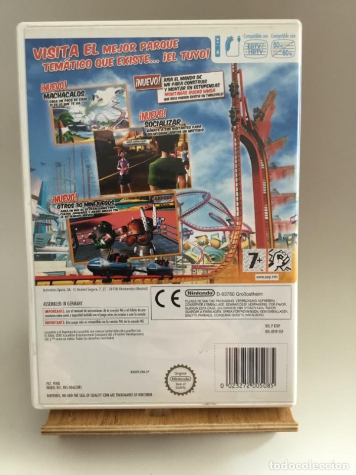Videojuegos y Consolas: Thrillville fuera de control , juego Nintendo Wii, PAL Español, completo - Foto 2 - 265844939