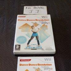 Videojuegos y Consolas: WII KONAMI DANCE REVOLUTION HOTTEST PARTY 2 VERSIÓN ESPAÑOLA. Lote 266227078