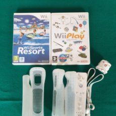 Videojuegos y Consolas: MANDO, JUEGOS Y VARIOS NINTENDO WII. Lote 268160199