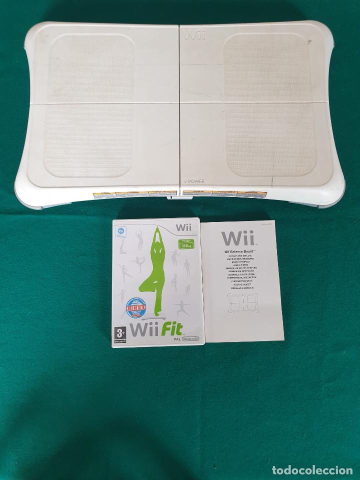WII BALANCE BOARD - TABLA ORIGINAL OFICIAL NINTENDO PARA WII FIT (Juguetes - Videojuegos y Consolas - Nintendo - Wii)