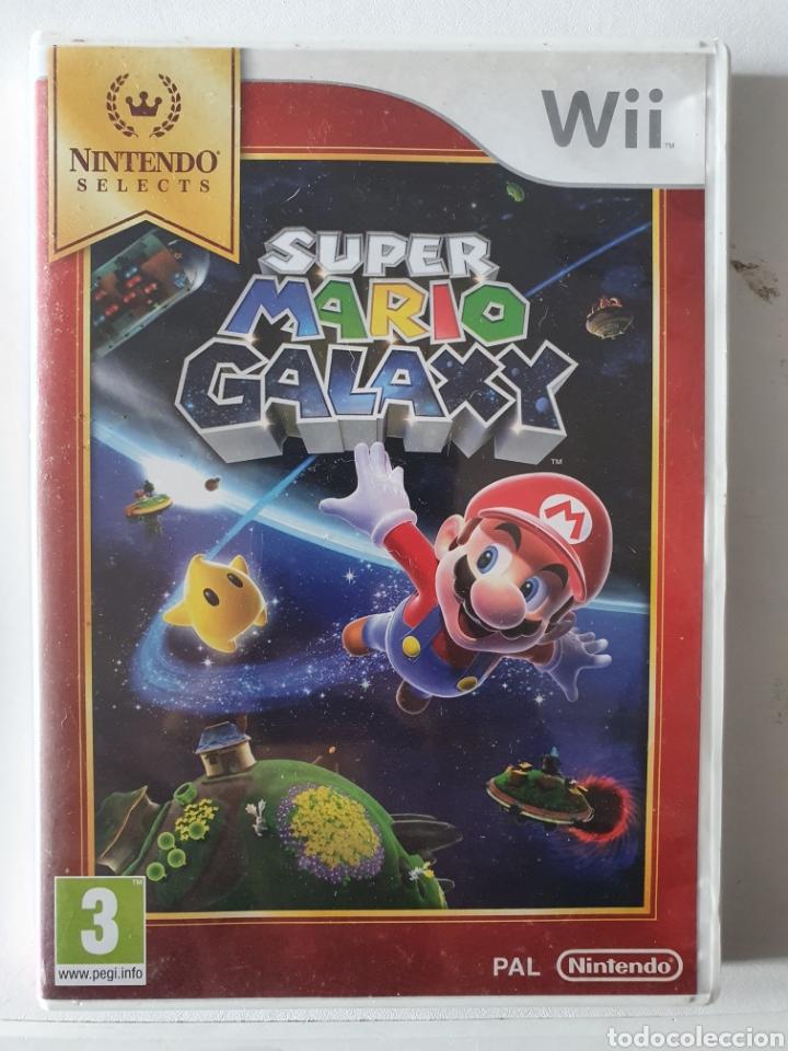 JUEGO SUPER MARIO GALAXY. NINTENDO WII (Juguetes - Videojuegos y Consolas - Nintendo - Wii)