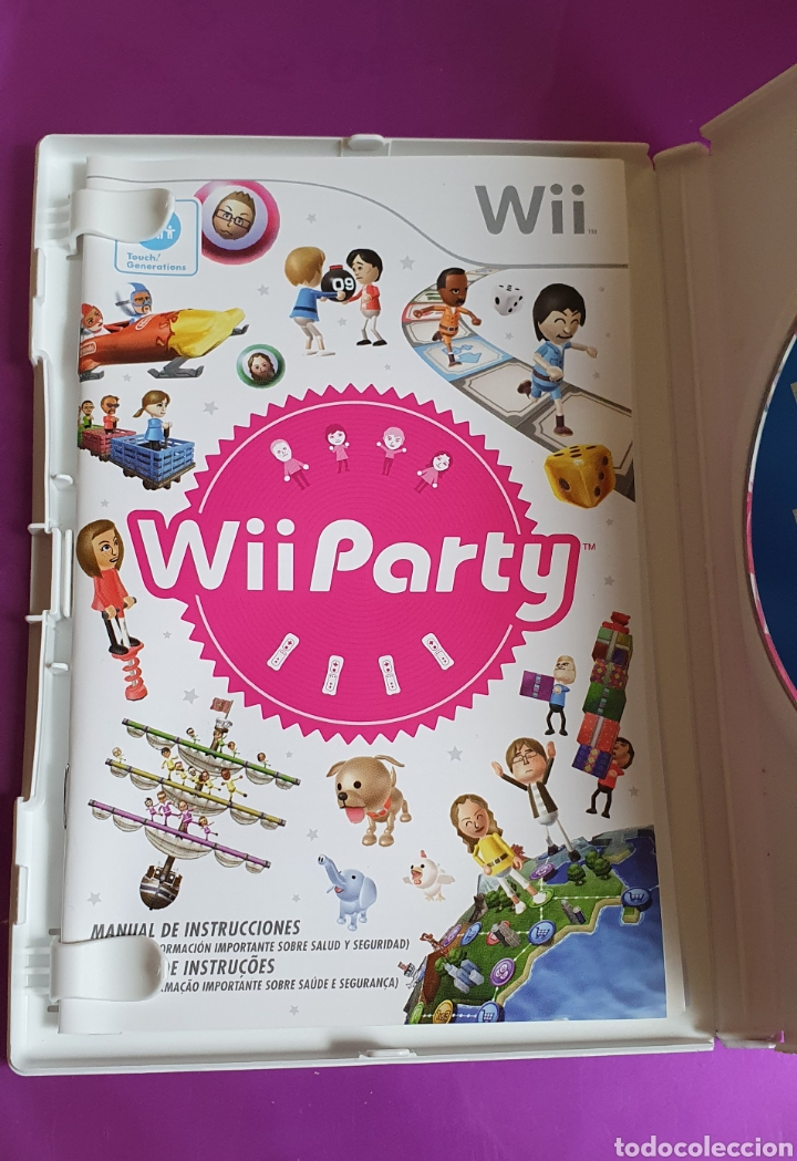Videojuegos y Consolas: CAJA Y MANUAL NINTENDO WII PARTY - NO INCLUYE CD!!! - Foto 3 - 268786289