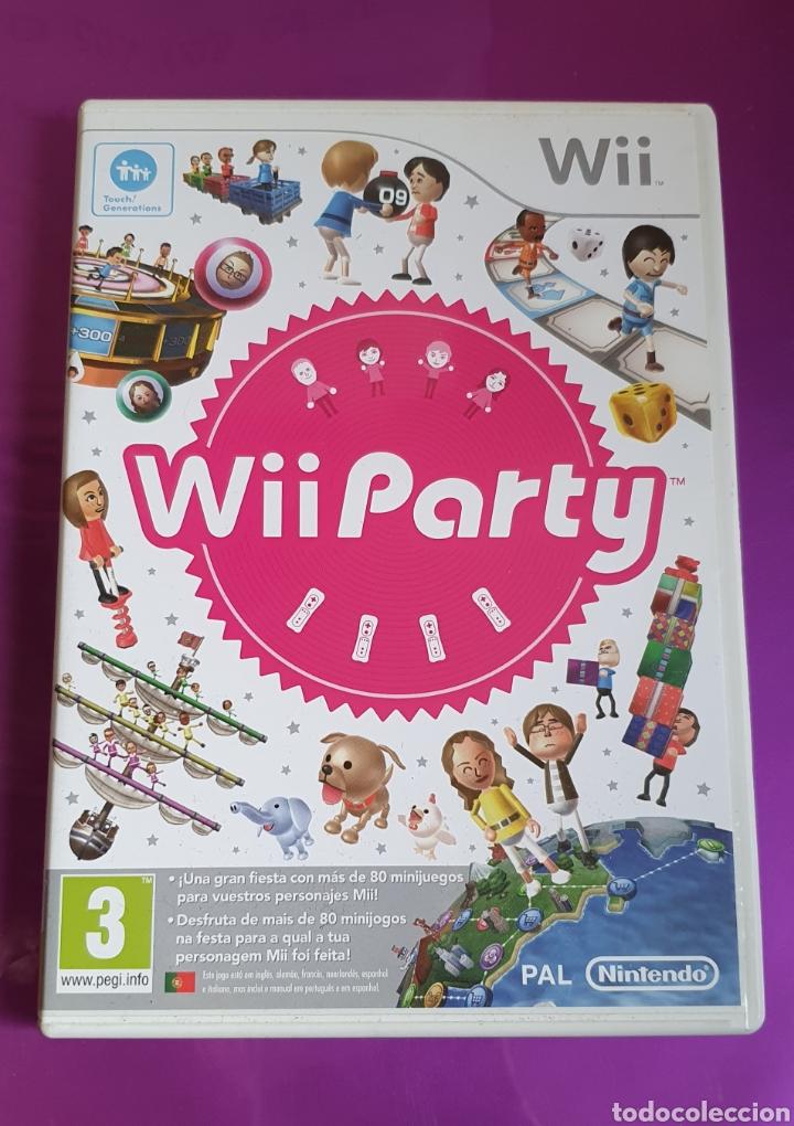 CAJA Y MANUAL NINTENDO WII PARTY - NO INCLUYE CD!!! (Juguetes - Videojuegos y Consolas - Nintendo - Wii)