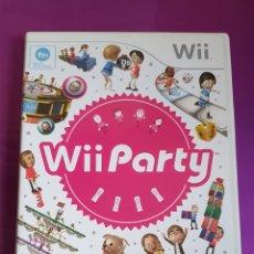 Videojuegos y Consolas: CAJA Y MANUAL NINTENDO WII PARTY - NO INCLUYE CD!!!. Lote 268786289