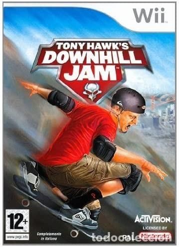MANUAL INSTRUCCIONES TONY HAWK'S DOWNHILL JAM WII (Juguetes - Videojuegos y Consolas - Nintendo - Wii)