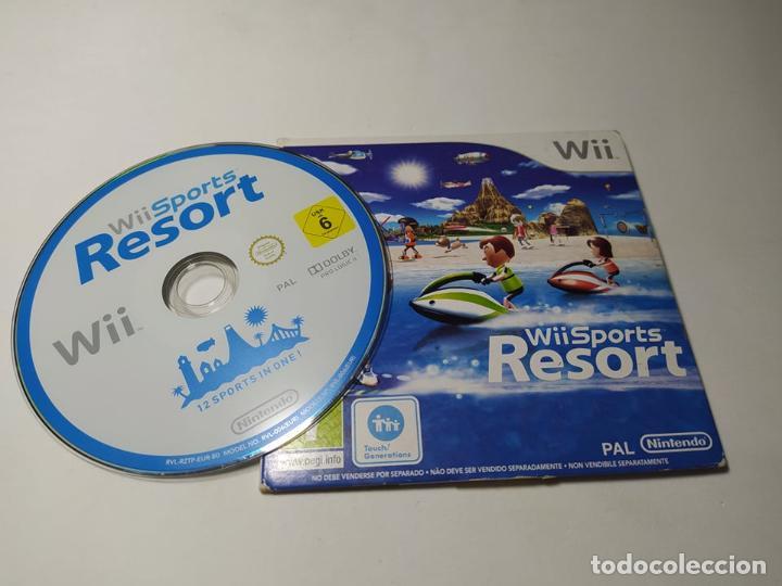 WII SPORTS RESORTS (CARTON ) ( NINTENDO WII - WII U - PAL - ESP) (Juguetes - Videojuegos y Consolas - Nintendo - Wii)