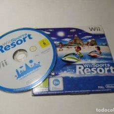Videojuegos y Consolas: WII SPORTS RESORTS (CARTON ) ( NINTENDO WII - WII U - PAL - ESP). Lote 268918834