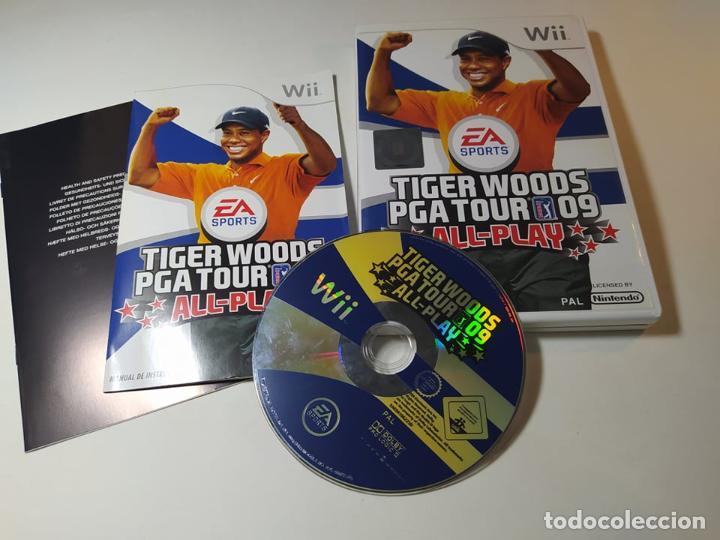 TIGER WOODS PGA TOUR 09 ( NINTENDO WII - WII U - PAL - ESP) (Juguetes - Videojuegos y Consolas - Nintendo - Wii)
